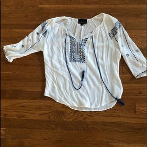 Cynthia Rowley Boho top